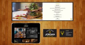 Jordan Supper Club Brand Identity and Website Design by DreamBig Creative Minneapolis, MN