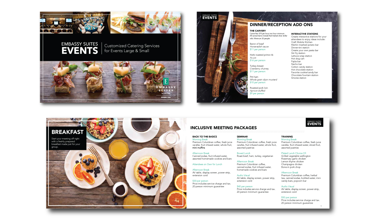 4 Tips for Effective Menu Design