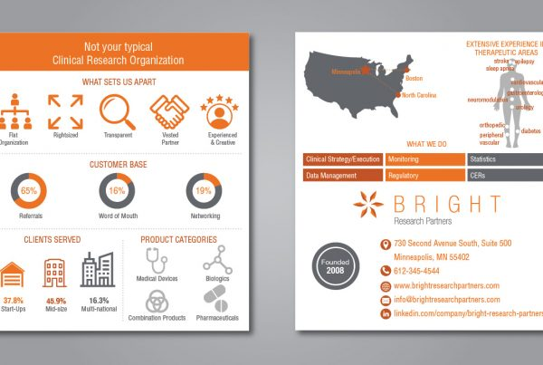 business card infographic design