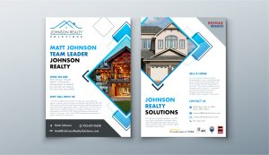 Real Estate Flyer Design