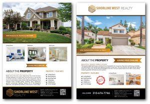 Real Estate Listing Flyer Design