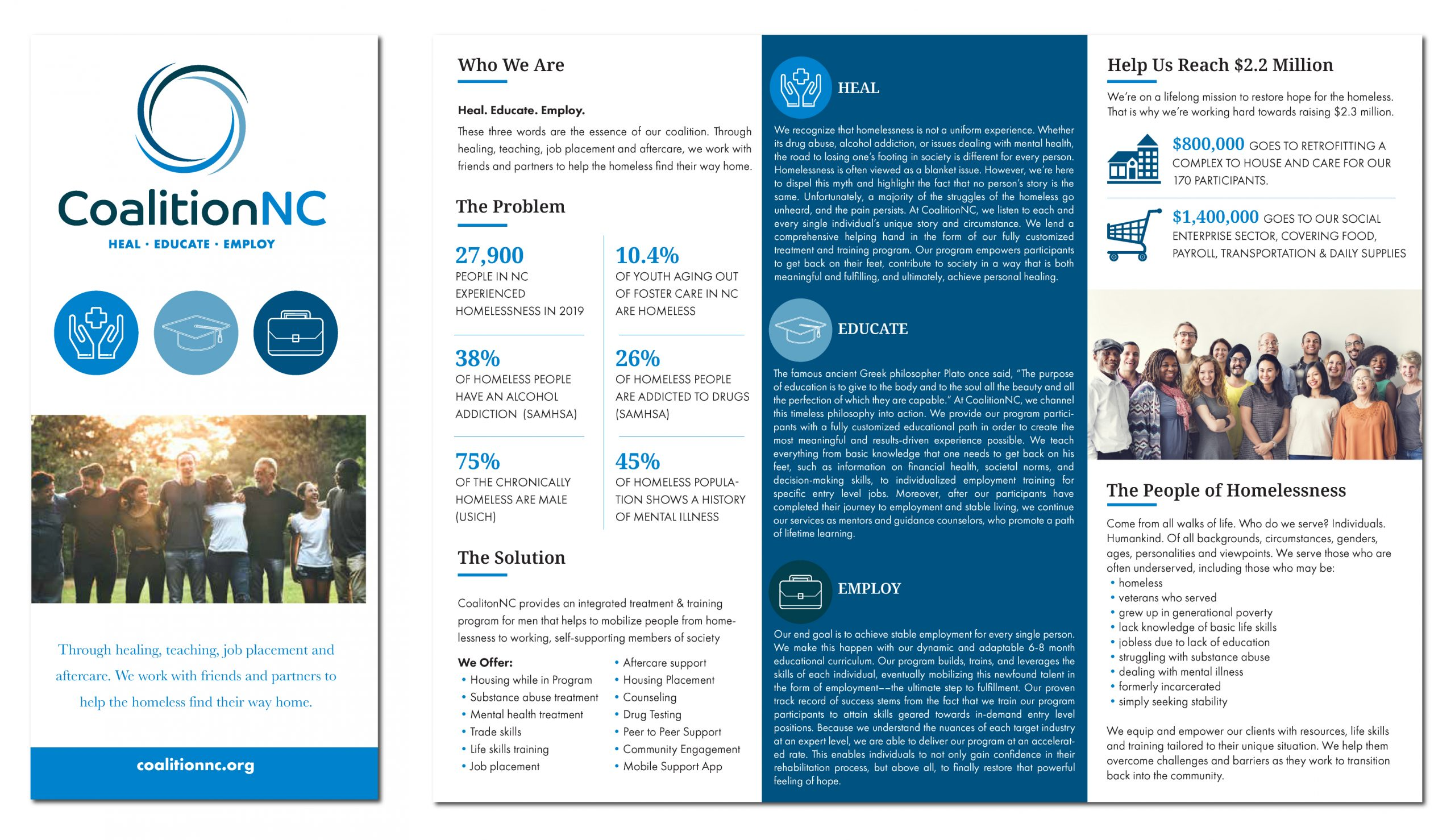 Non-Profit Brochure Design