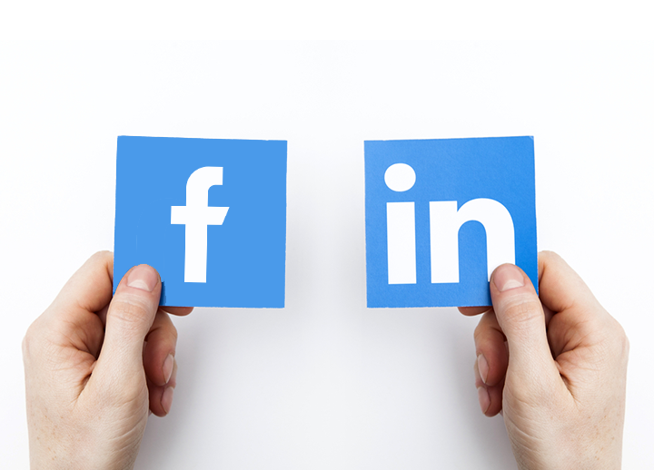 LinkedIn vs. Facebook For Custom Website Marketing