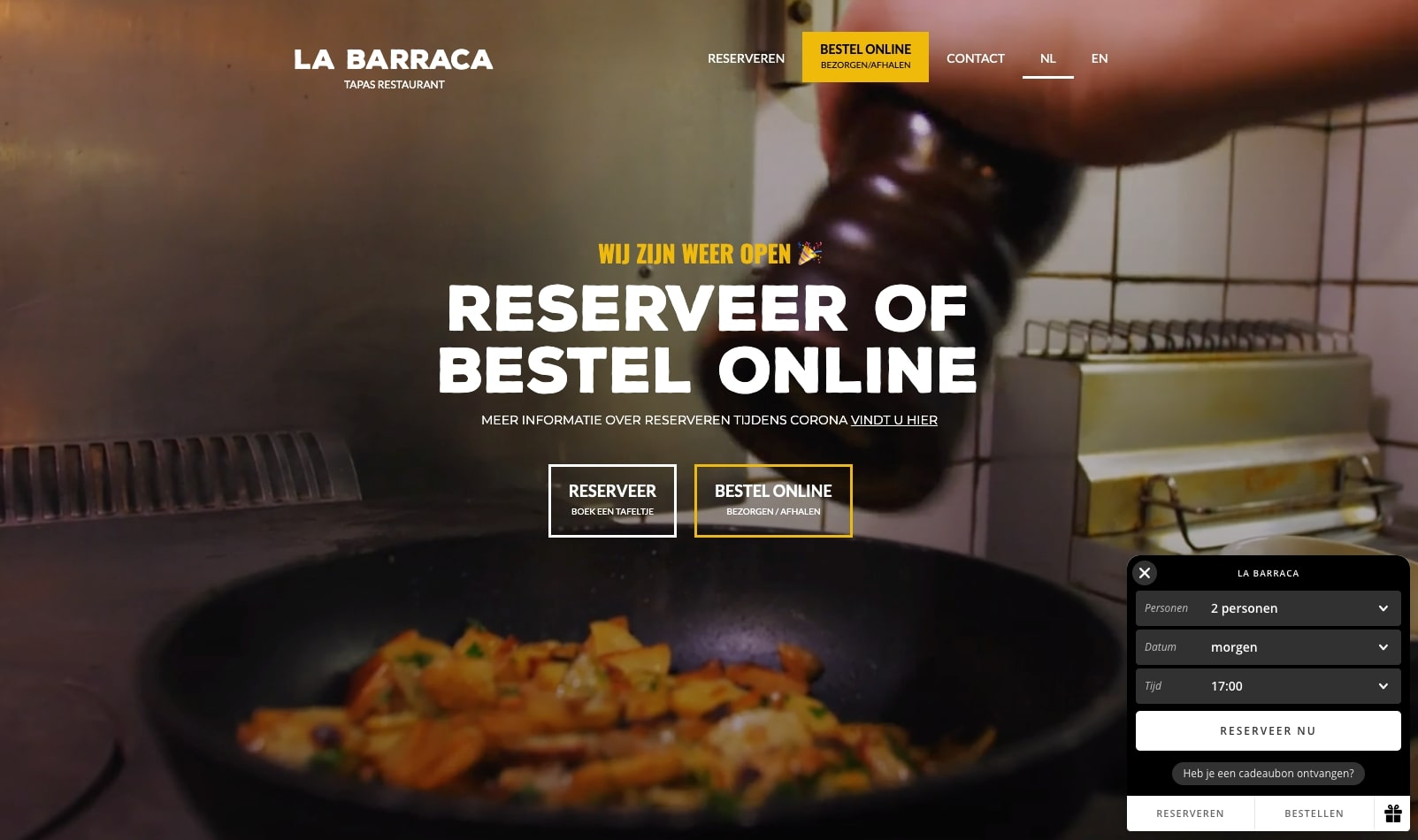 5 Web Design Trends in The Food Industry